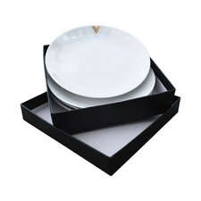 Monochromatic Side Plates - 4 Piece Gift Set