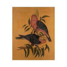 Vintage Aviary Artwork I