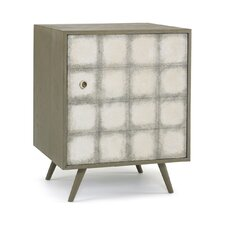 <strong>DwellStudio</strong> Franklin Silver Leaf Side Cabinet