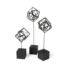 Tilted Cube Sculpture