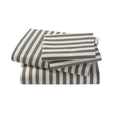 Draper Stripe Ash Sheet Set