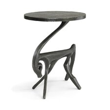 Gazelle Black Iron Side Table