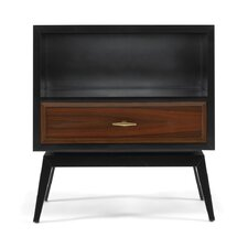 Karl Rosewood & Black Side Table