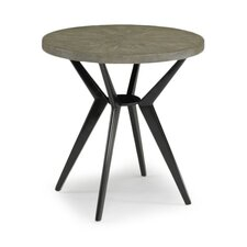 <strong>DwellStudio</strong> Odin Grey Shagreen Side Table