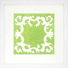 Blockprint Lime Artwork