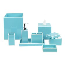 Modern Border Azure Bath Accessories