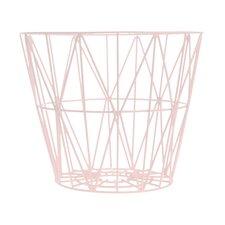 Kimono Rosette Wire Basket