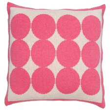 Graphic Dot Orchid Pillow