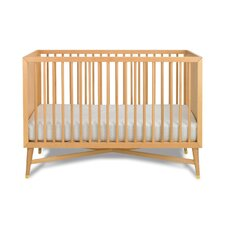 Mid-Century Natural Crib