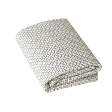 Squares Fitted Crib Sheet