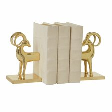 Gazelle Bookends (Set of 2)
