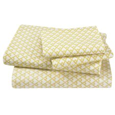 <strong>DwellStudio</strong> Masala Citrine Sheet Set