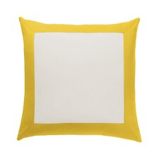 Modern Border Citrine Euro Sham (Set of 2)