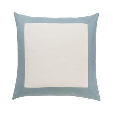 Modern Border Mist Euro Sham (Set of 2)