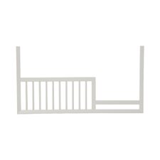 Mid-Century French White Toddler Rail