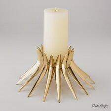 Corona Metal Candlestick