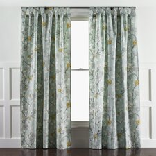 Leda Peony Aquatint Curtain Panels