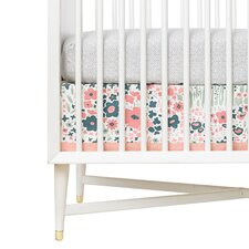 Posey Canvas Crib Skirt