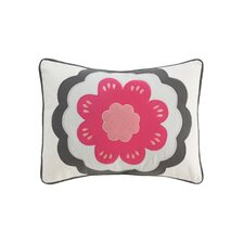 <strong>DwellStudio</strong> Zinnia Boudoir Pillow in Rose