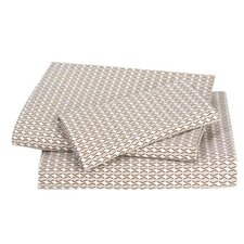 <strong>DwellStudio</strong> Zig Zag Sheet Set in Chocolate