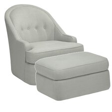 <strong>DwellStudio</strong> Savoy Glider and Ottoman