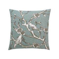 Vintage Blossom Azure Pillow