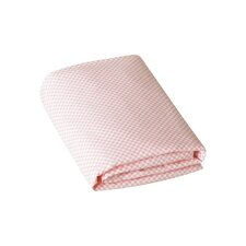 <strong>DwellStudio</strong> Check Blossom Fitted Crib Sheet