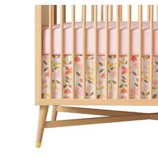 <strong>DwellStudio</strong> Rosette Blossom Crib Skirt