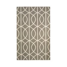 <strong>DwellStudio</strong> Gate Ash/Cream Rug