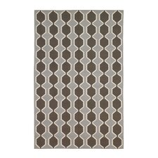 <strong>DwellStudio</strong> Chelsea Stripe Major Brown/Dove Rug