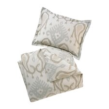 <strong>DwellStudio</strong> Batavia Dove Full / Queen Duvet Set