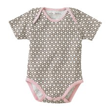 Starburst Chocolate Short Sleeve Bodysuit