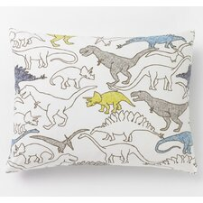 Dinosaurs Multi Single Standard Sham