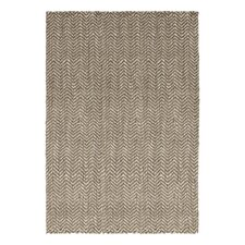 Herringbone Jute Grey Rug