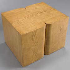 Curtis Modern Side Table French Oak