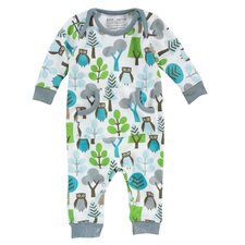 Owls Sky Playsuit 0-3 Mo.