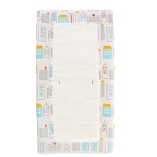Skyline Light Blue Changing Pad Cover