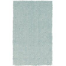 Diamond Jute Slate Blue Rug