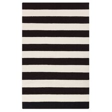 Draper Stripe Ink Rug