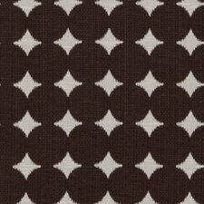 Ikat Dot Fabric - Chocolate