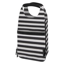 <strong>DwellStudio</strong> Mini Stripe Ink Insulated Carrier