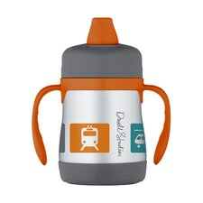 <strong>DwellStudio</strong> Transportation Multi 7 oz Insulated Soft Spout Sippy Cup