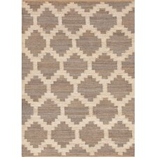 Feza Rug in Medium Gray