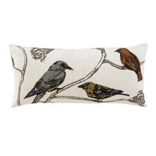 Chinoiserie Long Pillow in Natural