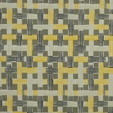 Illusion Weave Fabric - Citrine