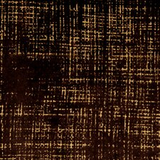 Etched Velvet Fabric - Espresso