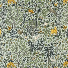 Folkland Fabric - Aquatint