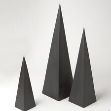 3 Piece Pyramid Object Set