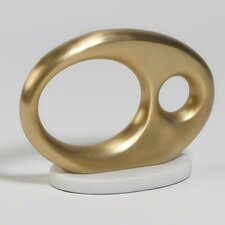 Oval Metal Object