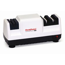 <strong>Chef's Choice</strong> Diamond Hone Deluxe M100 Knife Sharpener in White